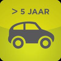 AUTO'S OUDER DAN 5 JAAR